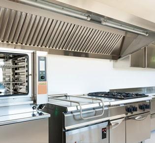 Nettoyage hotte de cuisine