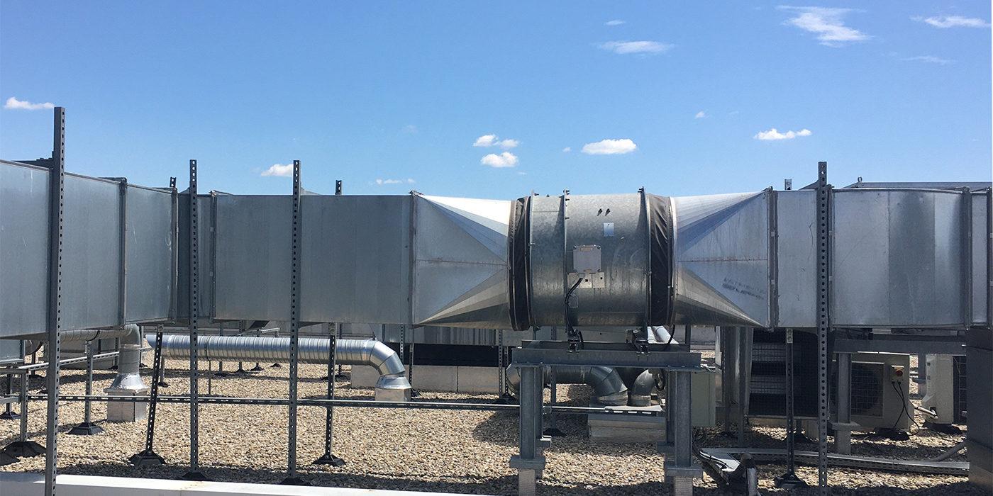 Maintenance centrale de traitement d'air