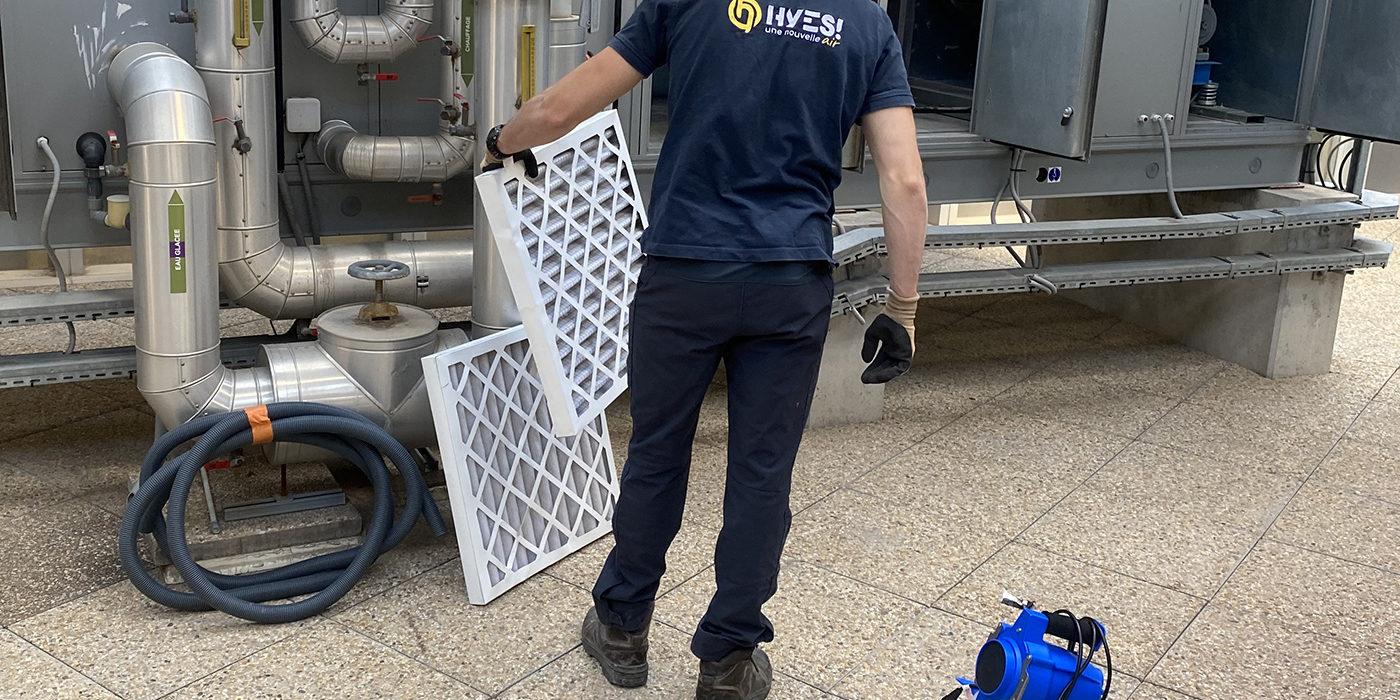 Maintenance filtration d'air